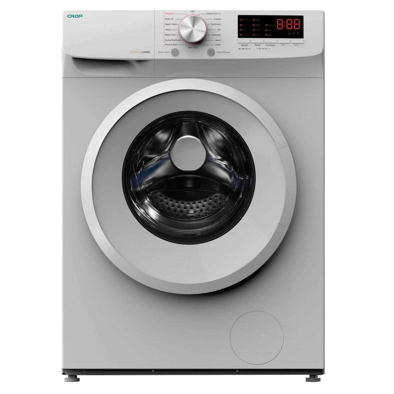 لباسشویی کروپ اتومات 6KG سفید درب سفید WFT-26130W