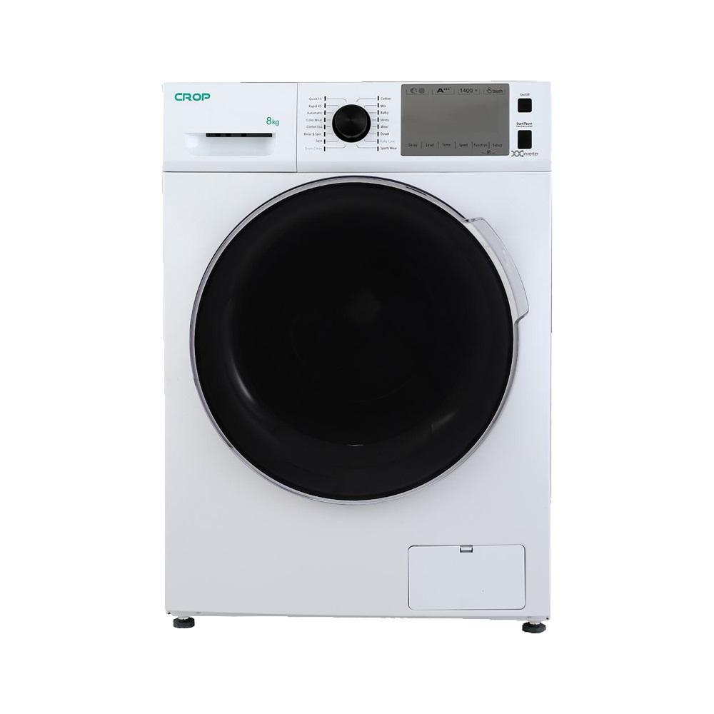 لباسشویی کروپ اتومات 8KG سفید درب کروم 1400دور  WFT-28412WT
