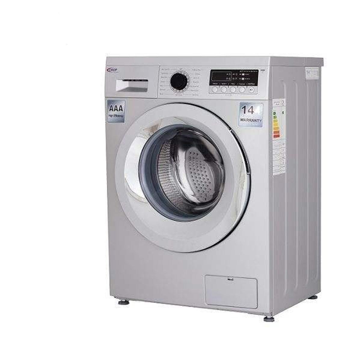 لباسشویی کروپ اتومات 8KG سفید درب کروم 1400دور  WFT-28414WT